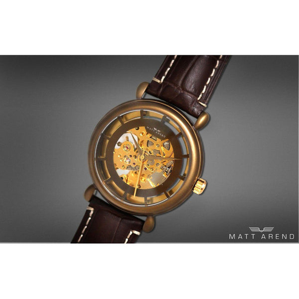 MA 850 Planet X Skeleton Bronze
