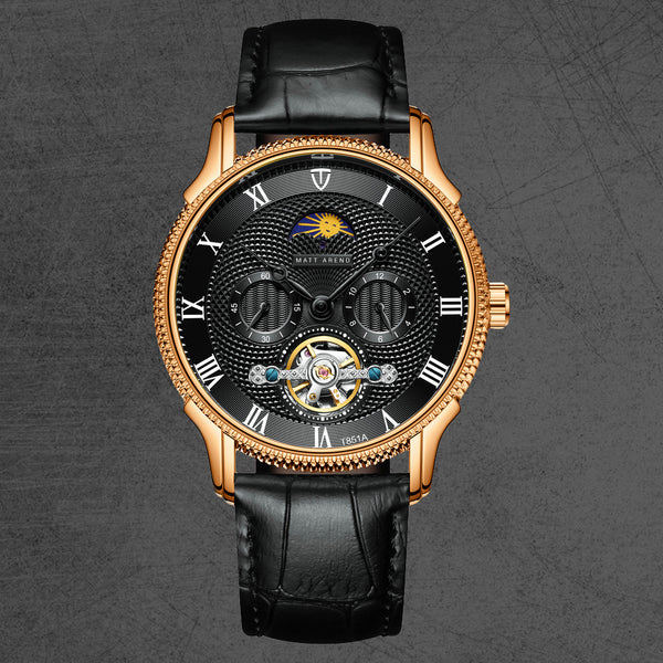 MA 879 Bellagio II Rosegold Black