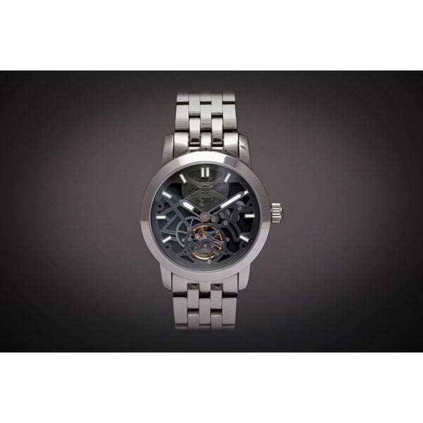 Custom Ma 638 Monochrome X Steel-Wristwatch-Matt Arend Timepieces