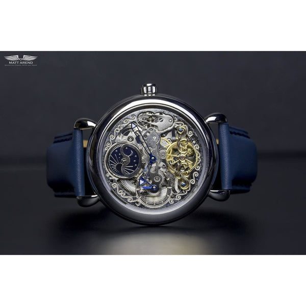 Custom Ma 644 Mystère Du Temps Calibre 8820-Wristwatch-Matt Arend Timepieces