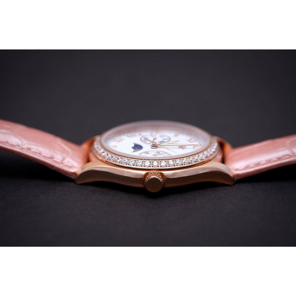 MA 167 Jour Nuit Rosegold Pink Automatic-Wristwatch-Matt Arend Timepieces