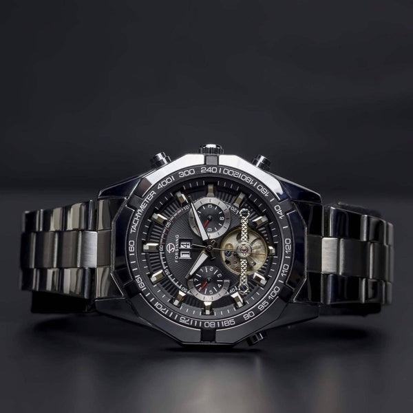 Ma 303 Midnight Explorer-Wristwatch-Matt Arend Timepieces