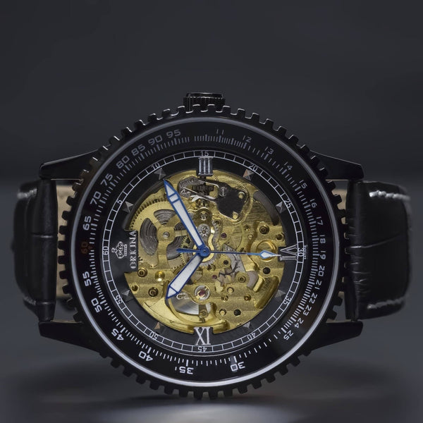 Ma 347 Navitimer Skeleton Gold-Wristwatch-Matt Arend Timepieces