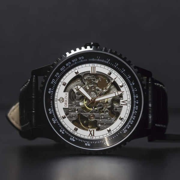 Ma 349 Navitimer Skeleton Black-Wristwatch-Matt Arend Timepieces