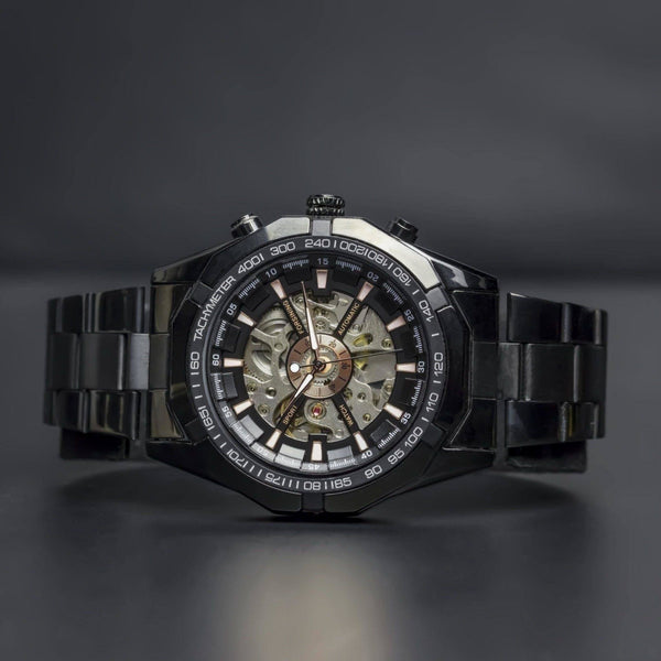 Ma 401 Elements Black-Wristwatch-Matt Arend Timepieces