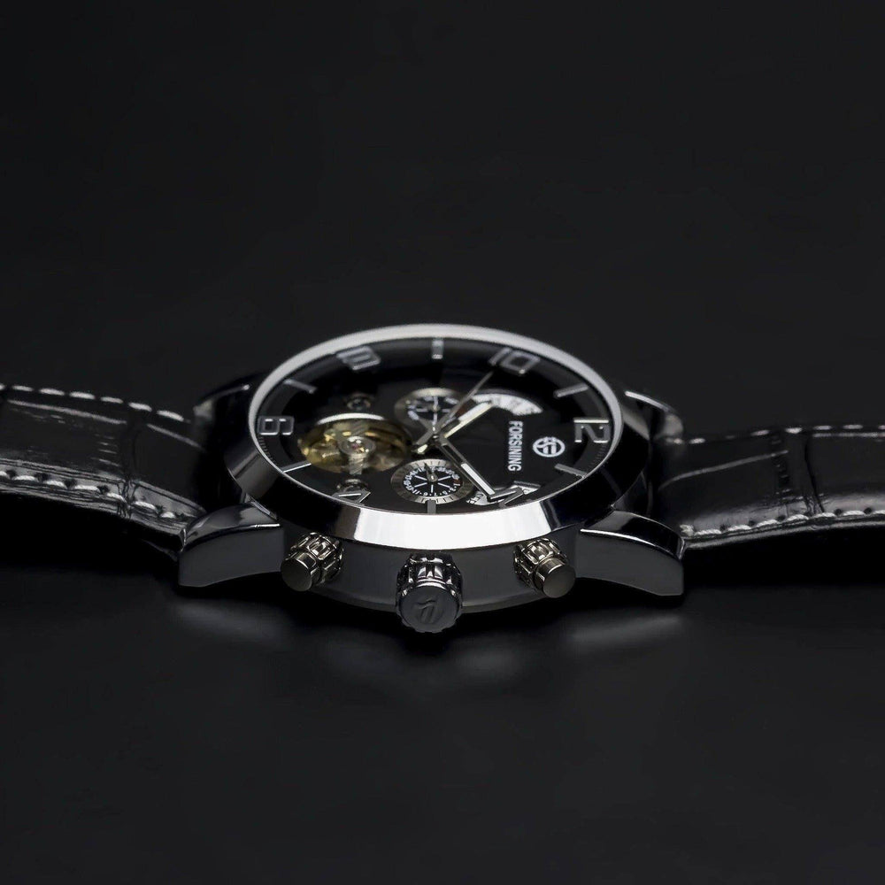 Ma 444 Nebulae Black-Wristwatch-Matt Arend Timepieces