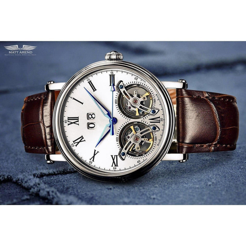 Ma 643 Heritage Classic Dual Escapement-Wristwatch-Matt Arend Timepieces