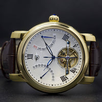 Ma 647 Semaine Retrograde Date Calibre 5802-Wristwatch-Matt Arend Timepieces