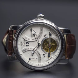 Ma 651 Retrograde Date Calibre 5802-Wristwatch-Matt Arend Timepieces