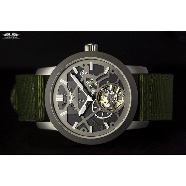 Ma 655 Monochrome X Nato-Wristwatch-Matt Arend Timepieces