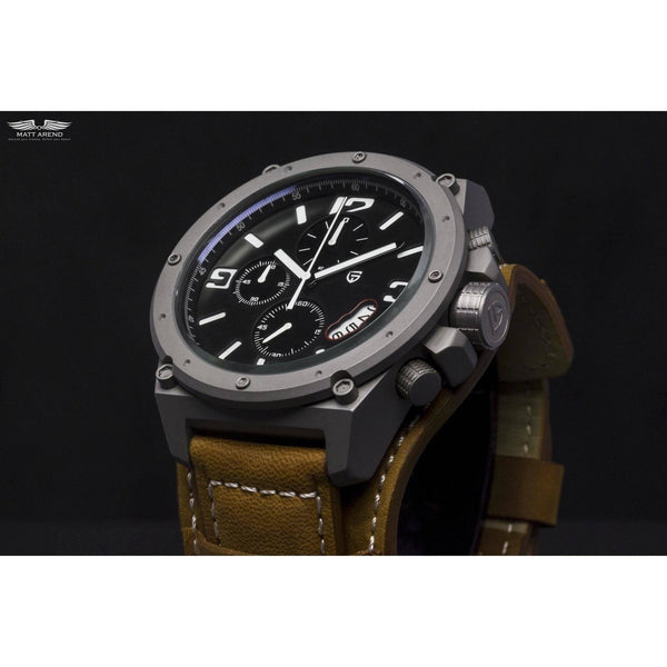 MA 672 Navigator Tactical Chronograph-Wristwatch-Matt Arend Timepieces