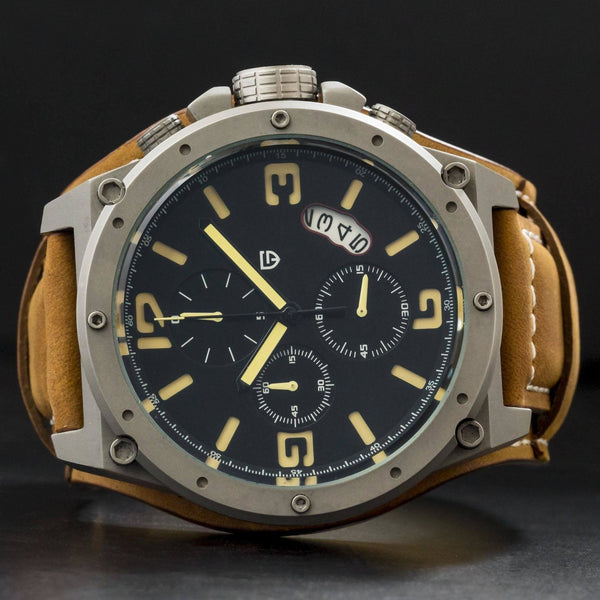 MA 672A Navigator Tactical Chronograph-Wristwatch-Matt Arend Timepieces