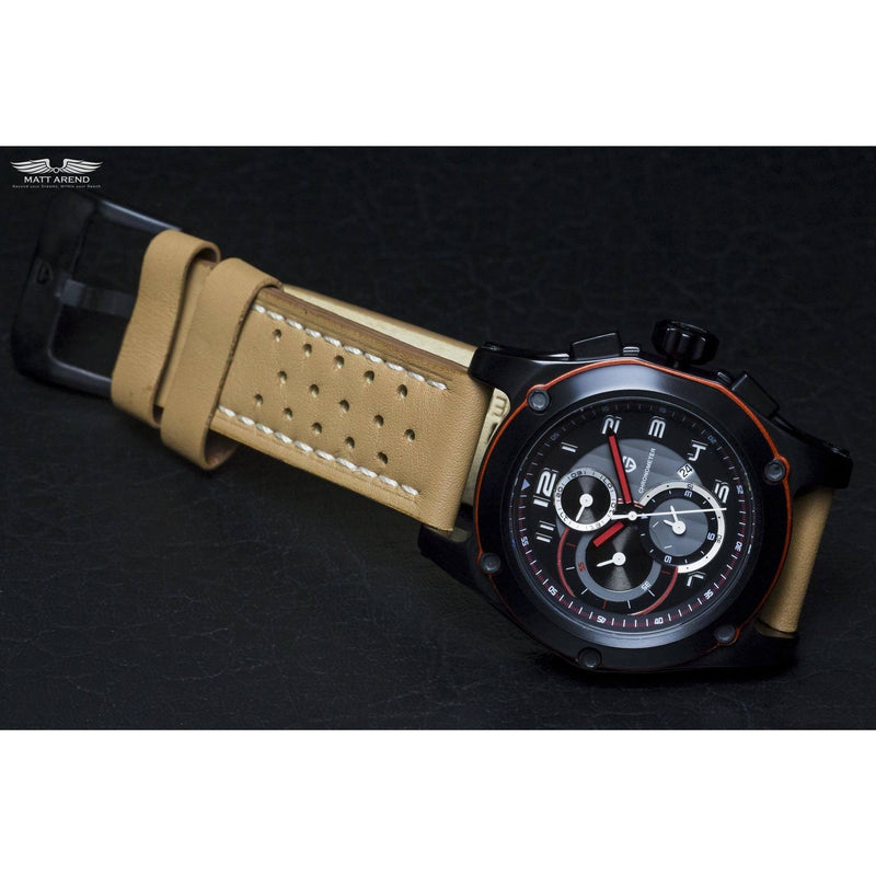 MA 674 Supersport XXL Black Chronometer-Wristwatch-Matt Arend Timepieces