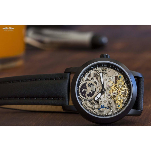 Ma 685 Calibre 416 Esprit Libre Skeleton Black-Wristwatch-Matt Arend Timepieces