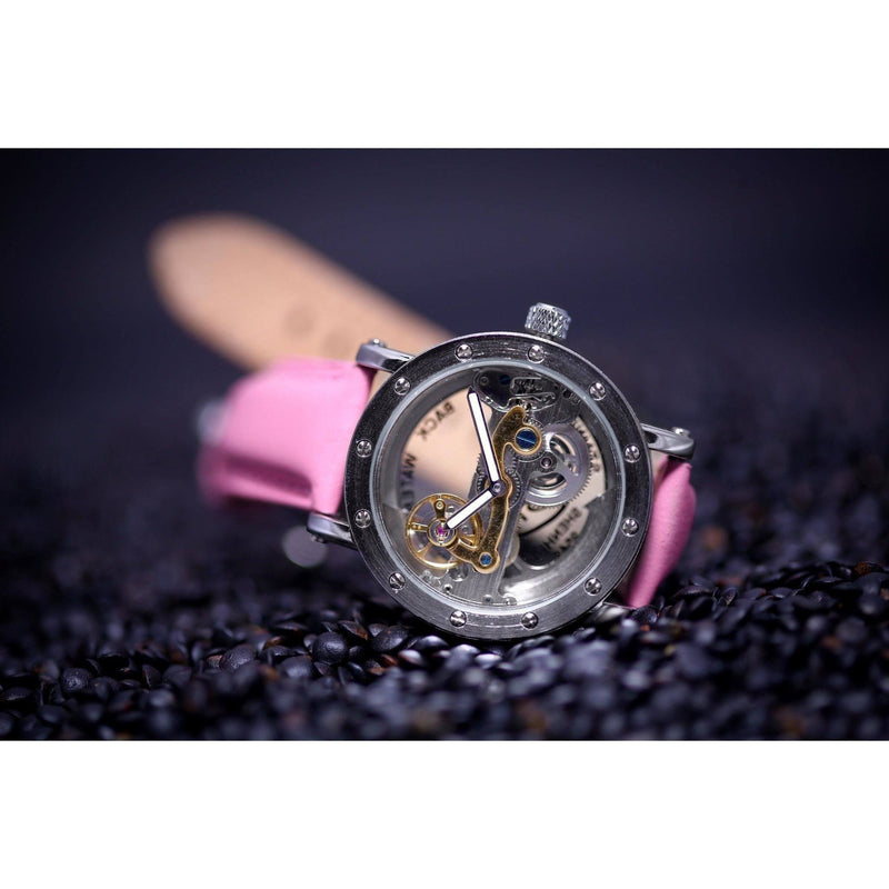 Ma 694 Excalibur Ladies Pink-Wristwatch-Matt Arend Timepieces