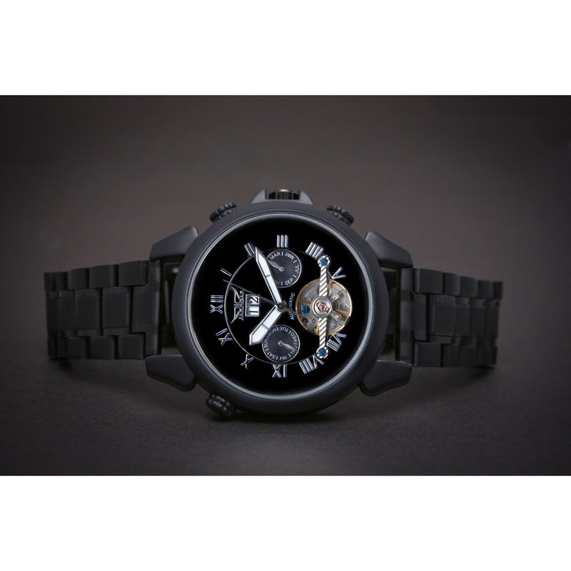 Ma 706 Andaluz Black DLC Coating-Wristwatch-Matt Arend Timepieces