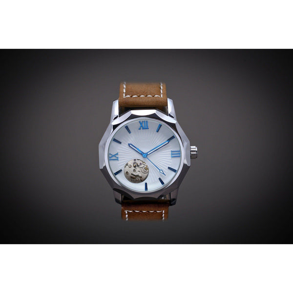 MA 710 White Mariner-Wristwatch-Matt Arend Timepieces