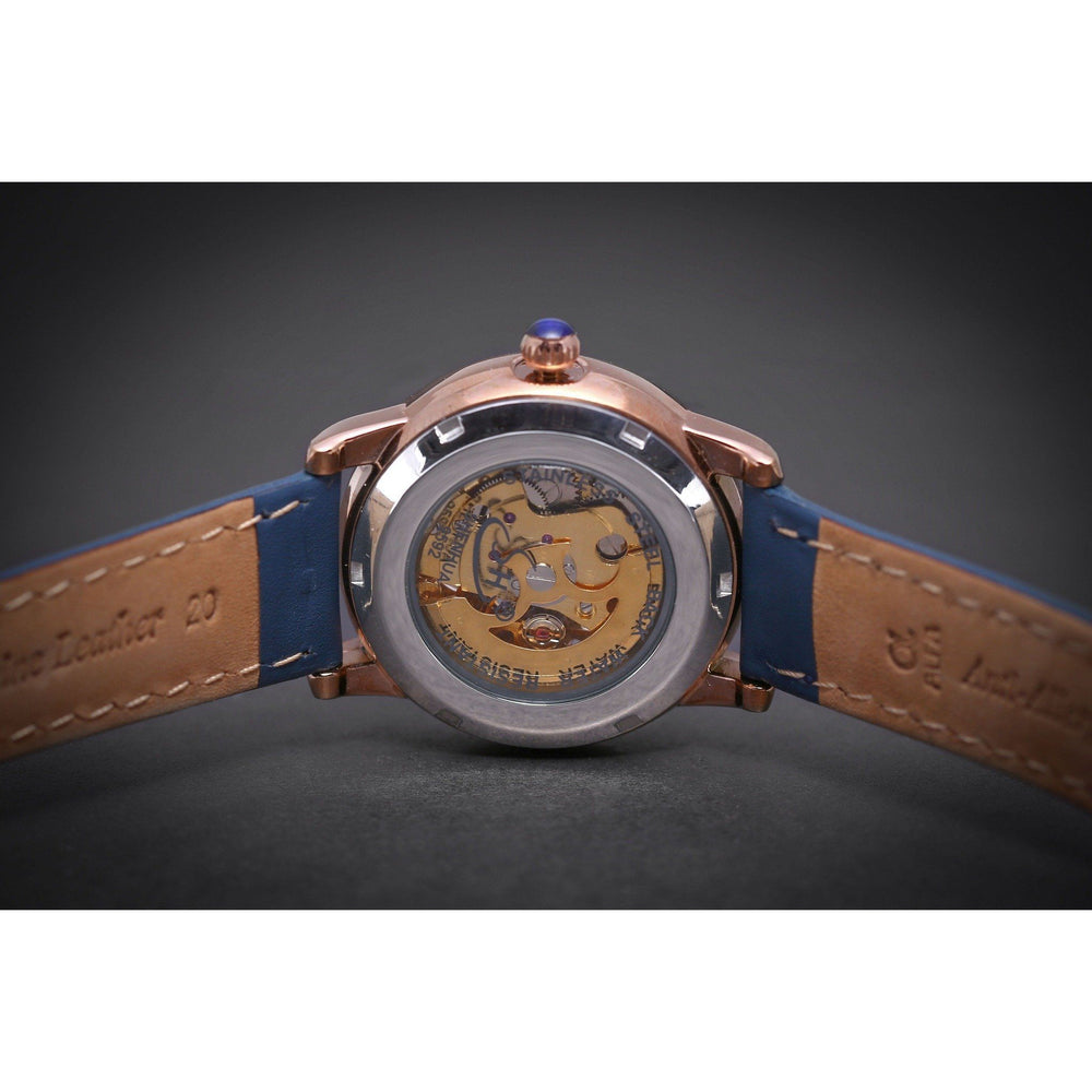 Ma 716 Emerald Navy-Wristwatch-Matt Arend Timepieces