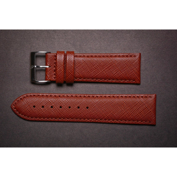 Premium Leather Strap Light Brown Elegance-Straps-Matt Arend Timepieces