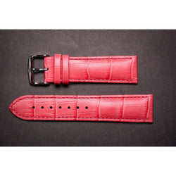 Premium Leather Strap Salmon Pink-Straps-Matt Arend Timepieces