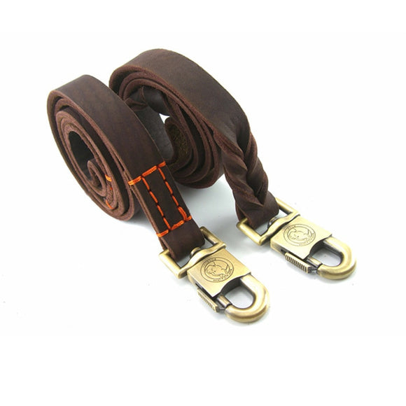 Ready TO GO Leather Dog Leash
