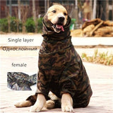 Camo Raincoat for Dogs