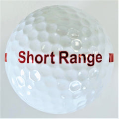 BA170SW One Piece Golf Driving Range Ball White Short Distance Reduced Flight