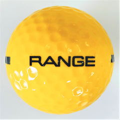 BA180Y One Piece Driving Range Golf Ball Yellow