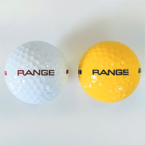 BA180 One Piece Driving Range Golf Ball White or Yellow