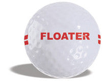 Range Ball 2 Piece Floater White (Box of 300/25 Dozen)