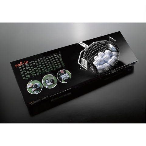 Bag Buddy manual roller ball collector for the golf practice ground and driving range