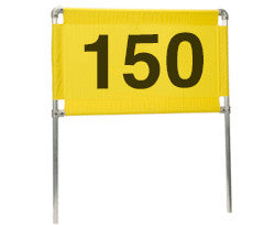 Distance Marker Horizontal 150 Banner Only