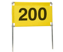 Distance Marker Horizontal 200 Banner Only