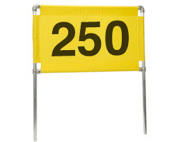 Distance Marker Horizontal 250 Banner Only