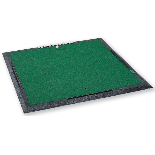 Golf Driving Range Mat Airlastic Heat Bonded Mat and Frame 170 cm x 170 cm