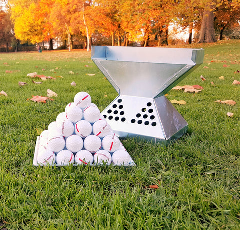 Pyramid Stacker Steel 55 Golf Balls