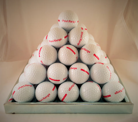 Pyramid Stacker Tray Steel 55 Golf Balls