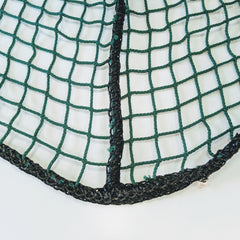 Golf practice enclosure replacement net corner