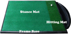 Range Mat Frame Combi Single Anti Shock (129cm x 159cm x 45mm)