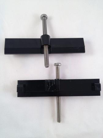 Digicard Reader Side Retaining Clamps