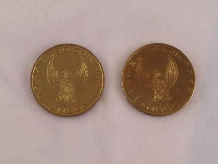 Token Double Eagle Large
