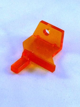Token Mechanism Orange Retaining Clip (Bottom)
