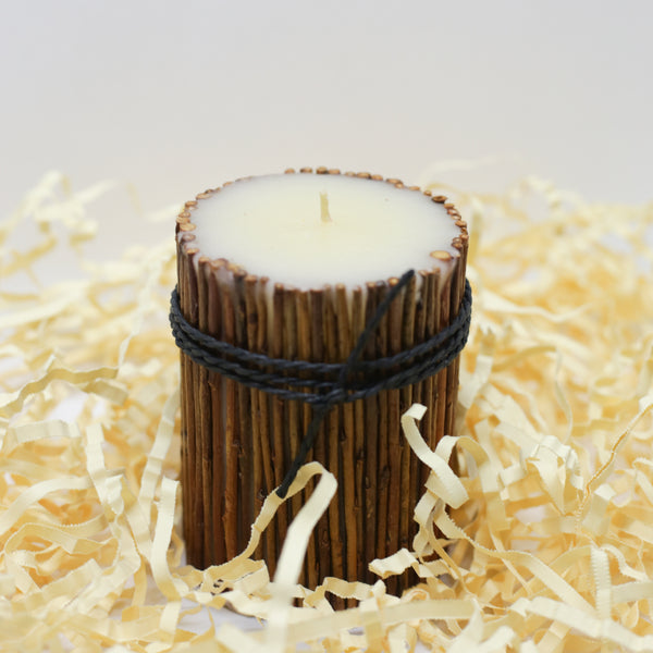 Bamboo Rustic Candle