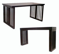 ANIKA CONVERTIBLE CONSOLE-DINING TABLE