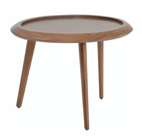 Domus Oval Center Table