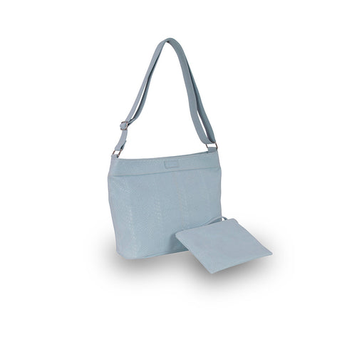 Matilda Mae Ice Blue Embossed