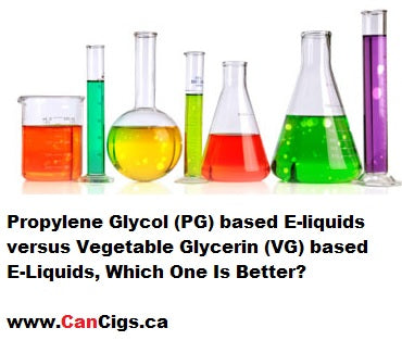 Propylene Glycol vs Vegetable Glycerin