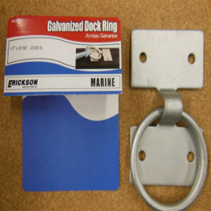 Galvanized Bolt on Dock Ring
