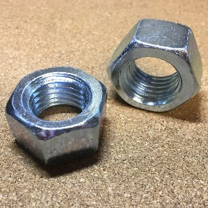 Grade 2 Finished Hex Nut Zinc - Coarse Thread