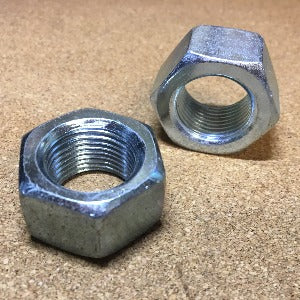 Grade 2 Finished Hex Nut Zinc - Fine Thread